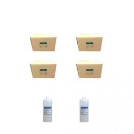 Комплект: паковочная масса 4 ящика(по 5 кг)+2 жидкости(по 1л)